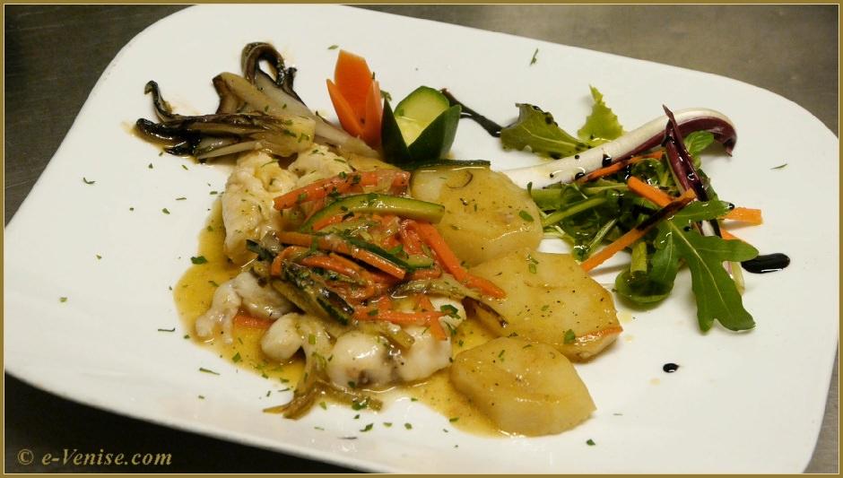 Recette de cuisine v nitienne de l 39 ostaria boccadoro - Lotte al armoricaine recette cuisine ...