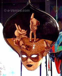 Masque de carnaval peint - Ca del sol