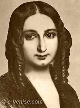 Portrait de George Sand par Jean Gigoux